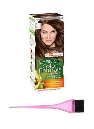 Garnier Garnier Color Naturals Saç Boyası 5 + Boya Fırçası Renksiz